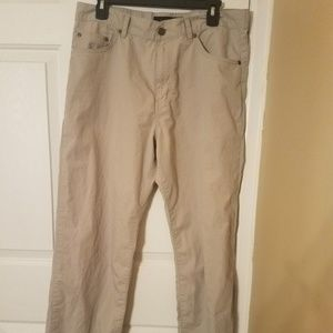 Calvin Klein Khaki Pants Mens 34 30 straight flat